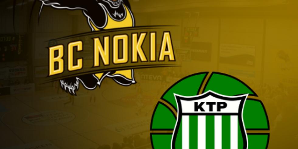 Kauden avaus: BC Nokia vs. KTP-Basket