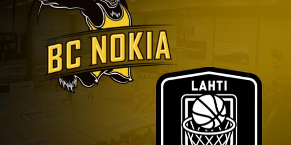 BC Nokia vs. Lahti Basketball