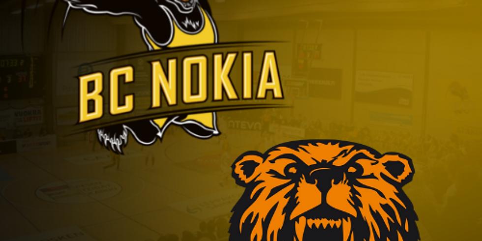 BC Nokia vs. Karhubasket