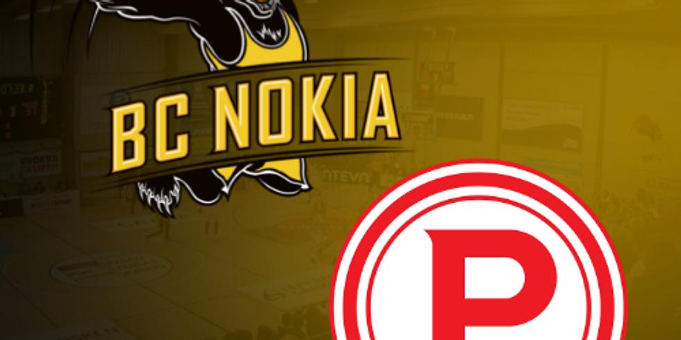 BC Nokia vs. Tampereen Pyrintö