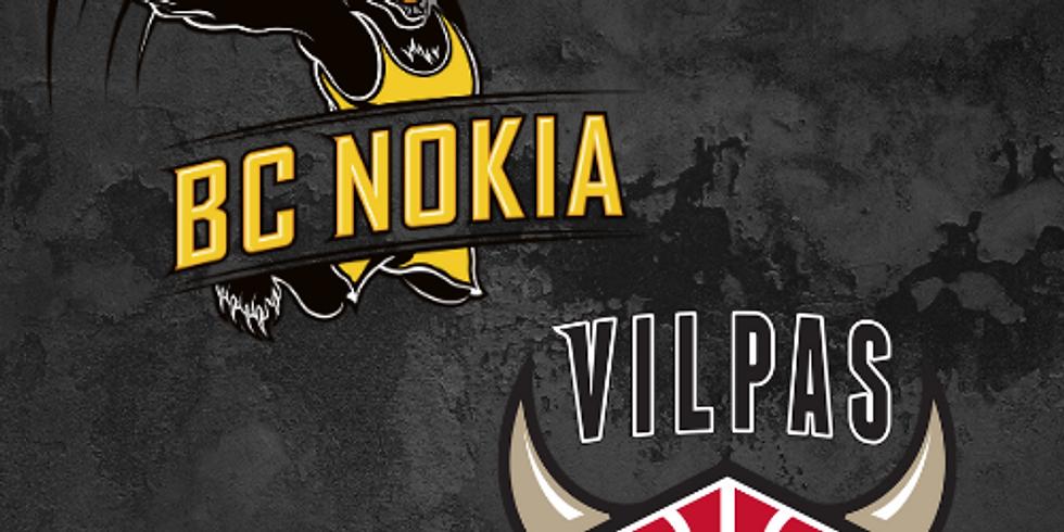 BC Nokia vs. Vilpas   Otteluisäntä: Vakuutusyhtiö Turva