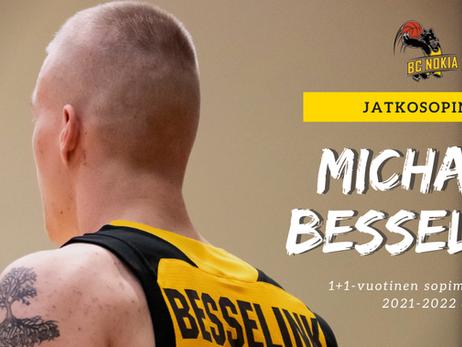 Michael Besselink jatkaa Näädissä