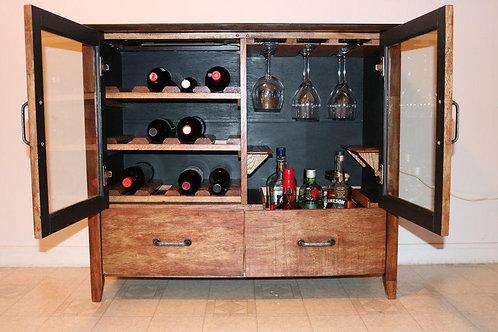 Remodeled Wine Cabinet
