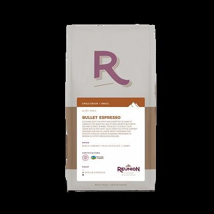 Reunion Island Expresso Bullet Coffee Bag Beans 340gr