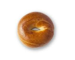 (Pack of 4) Plain Bagel