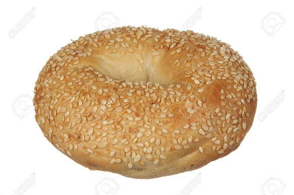 (Pack of 4) Bagel - Sesame