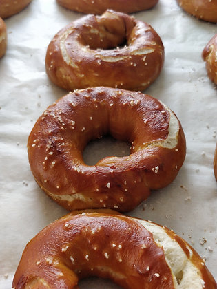 (Pack of 4) Pretzel Bagel