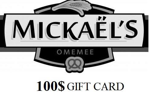 100$ Gift Card