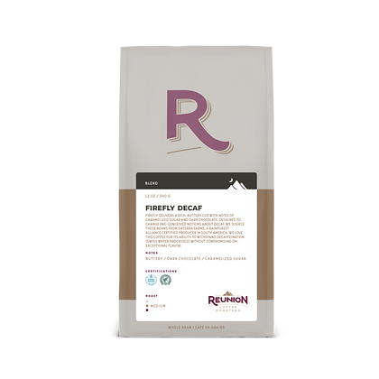 Reunion Island Firefly Coffee Bag Beans 340gr