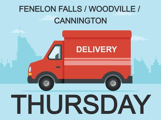 DELIVERY THURSDAY