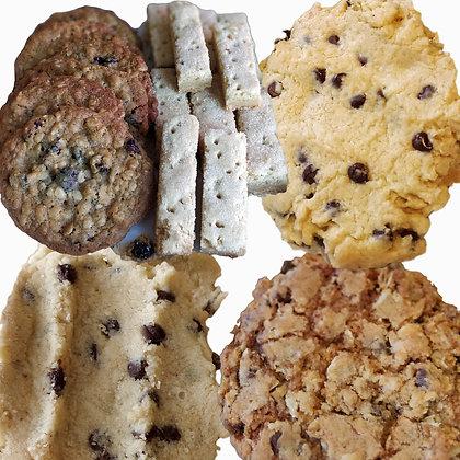 Variety box of 10 cookies