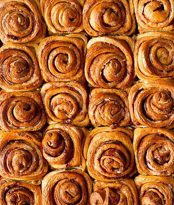 (Pack of 4) Cinnamon Roll