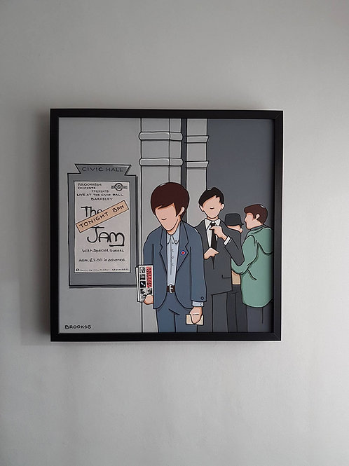 The Jam at The Civic Hall (Original Painting)