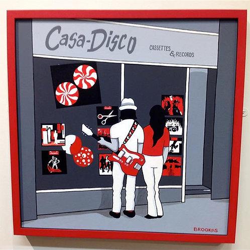 Casa Disco..The White Stripes- from Hotel Yorba to Casa Disco