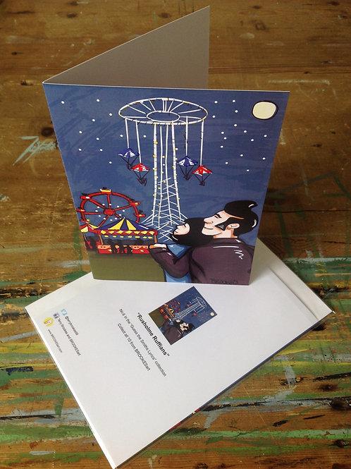 "The Smiths Lyric Greeting Card No 6 ""Rusholme Ruffians"""