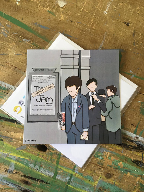 """The Jam """"Live at Civic Hall"""""""
