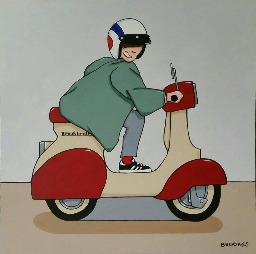 Scooter Kid