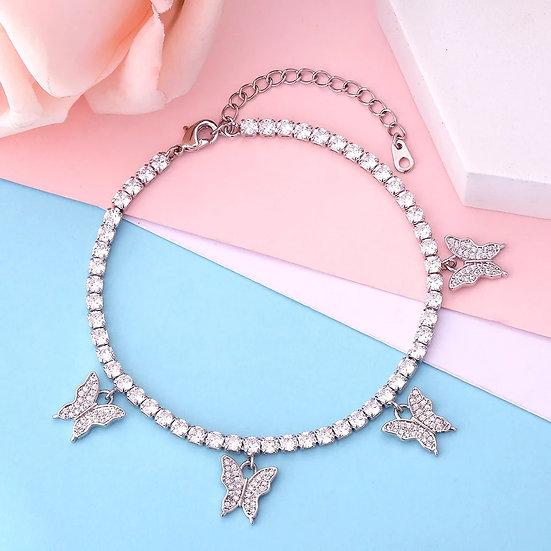 Butterfly Bling Bracelet