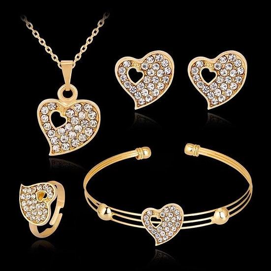 Diamond Heart Set
