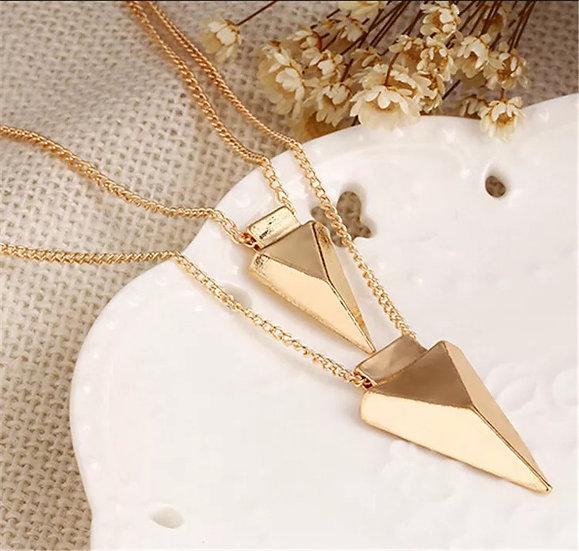 Multi-Layer Triangel Necklace