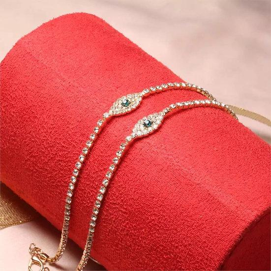 Diamond Ankle Bracelet