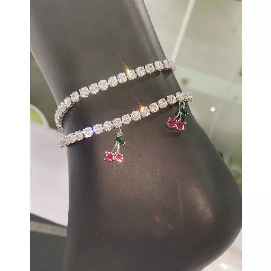 Cherry Ankle Bracelet