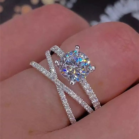 Bague Dainty 3 Layer Ring