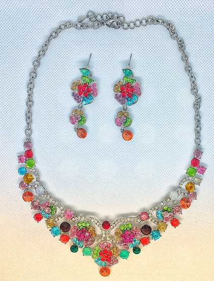 Colorful Crystal Stone Set