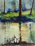 Landscape Paintings by Caroline Tate