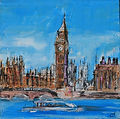 Cityscape Paintings by Caroline Tate