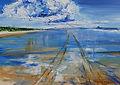 New Zealand Paintings by Caroline Tate