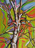 Music & Trees Paintings by Caroline Tate