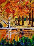 Autumn Paintings by Caroline Tate