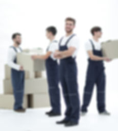 The team of responsible movers and their