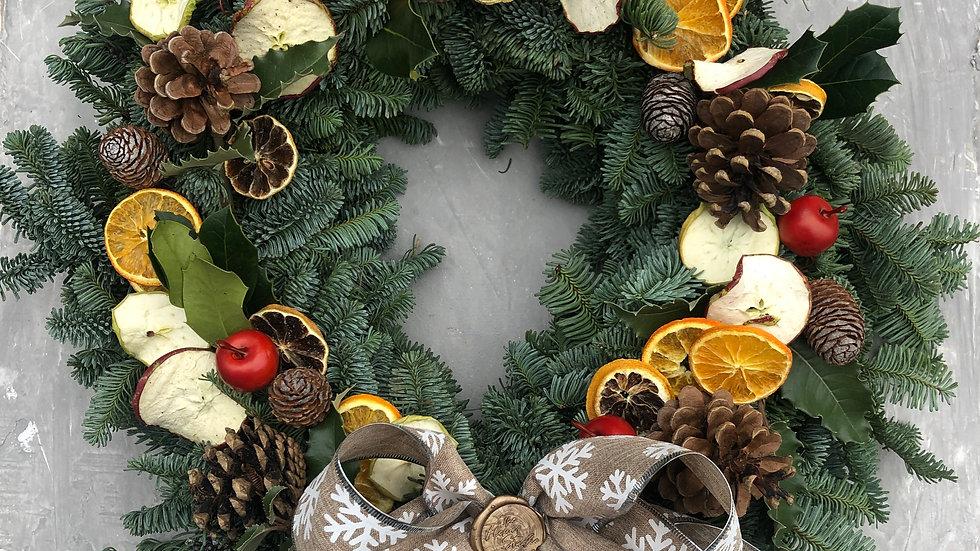 Feeling Fruity Christmas Wreath & Kit