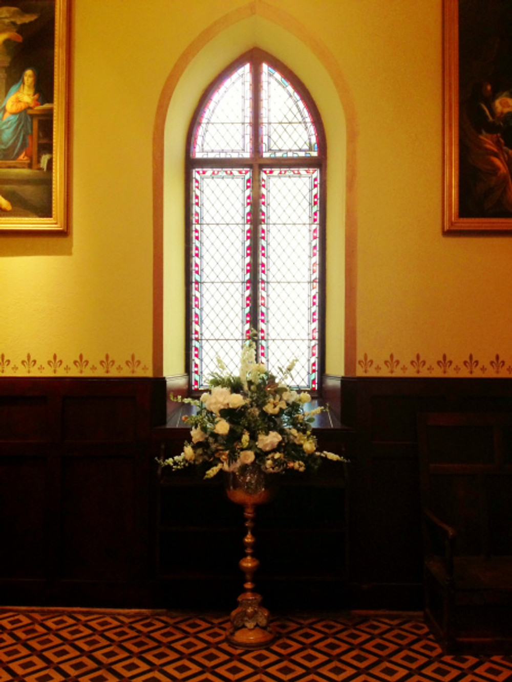 Pedestal in Anti-Chapel