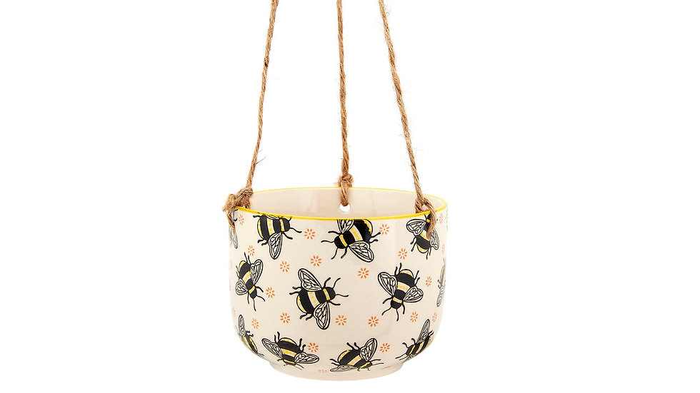 Busy Bees Hanging Planter