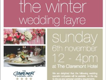 The Winter Wedding Fayre – 6th November 2011