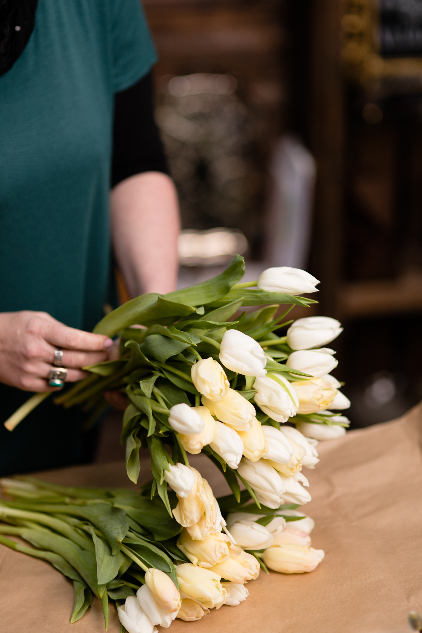 Isle of Man florist tulips