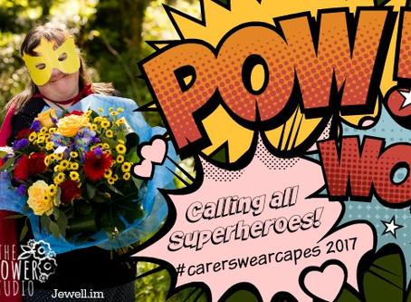 The Flower Studio supports  Crossroads Care Superhero Campaign