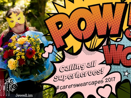 The Flower Studio supports  Crossroads Care Superhero Campaign