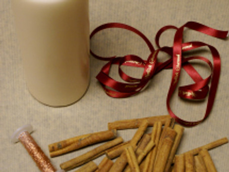 Christmas Cinnamon Candle