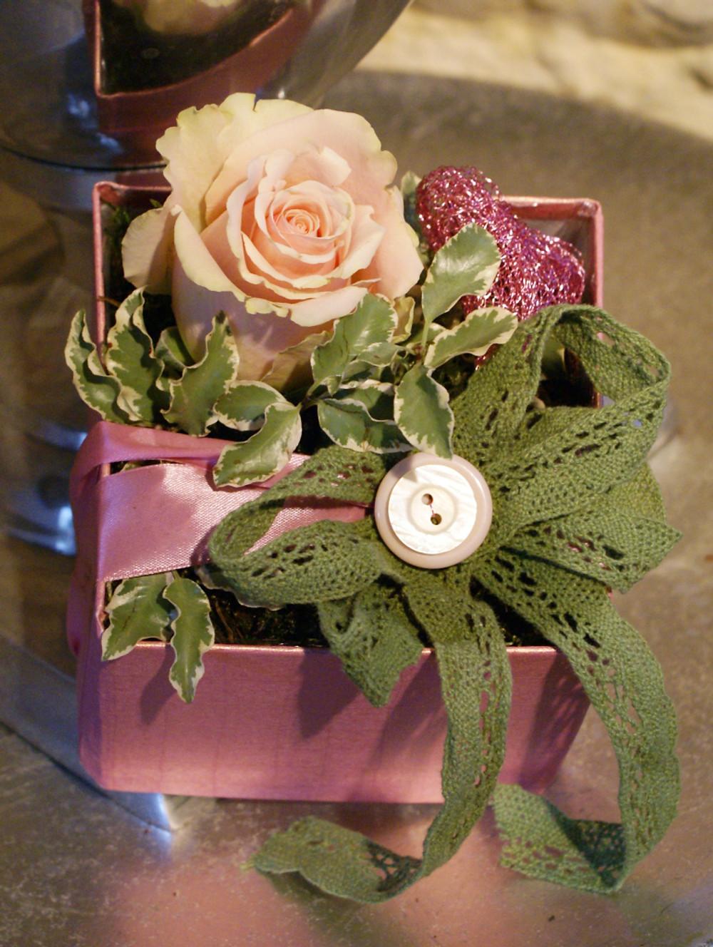 Pink Valentine's Gift Box