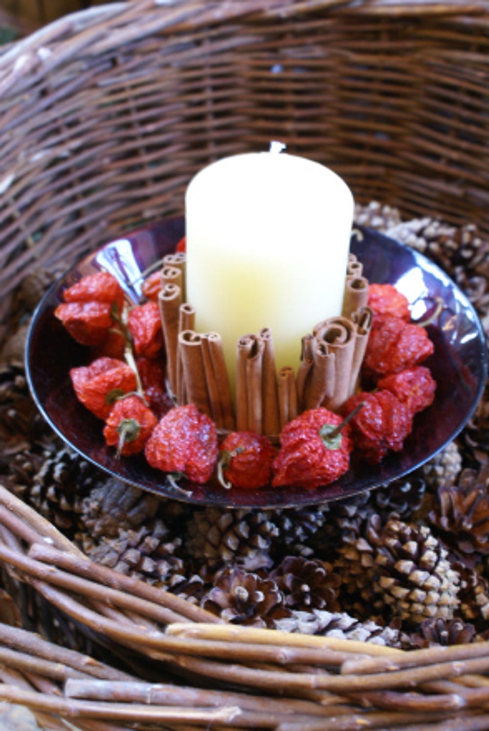 Cinnamon & Chilli Candle