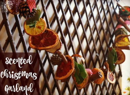 Scented Christmas Garland