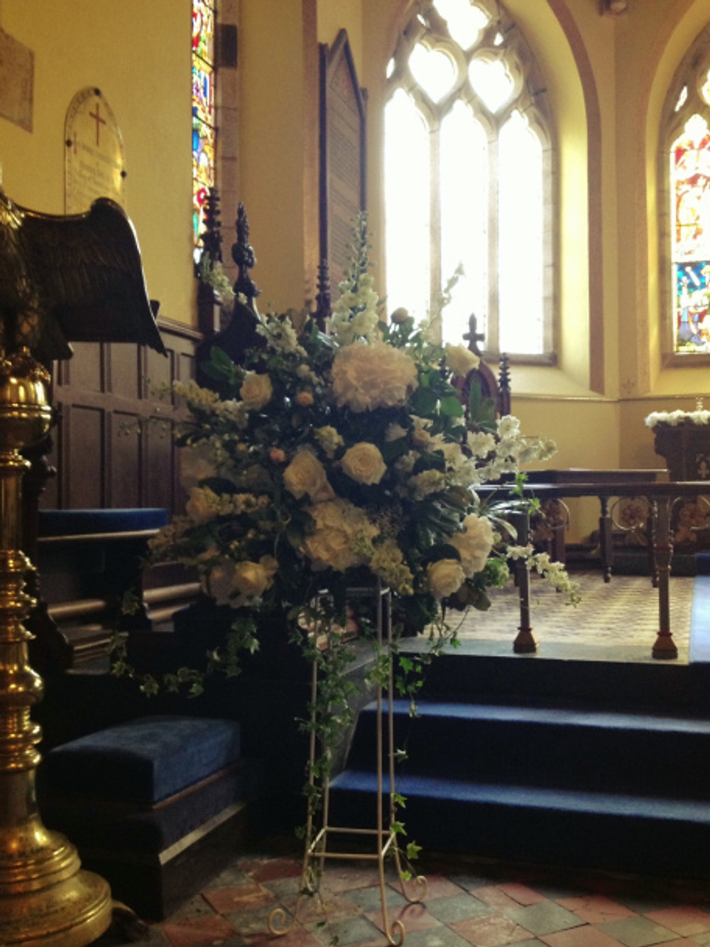Pedestal in Chapel