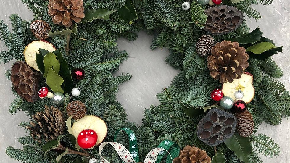Woodland Whimsy Christmas Wreath & Kit