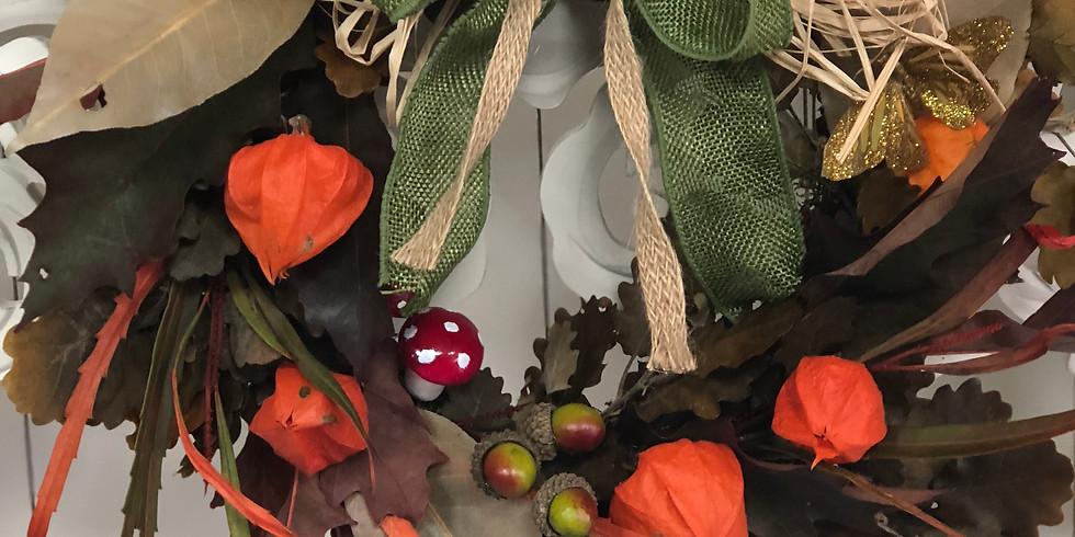 Autumn Wreath Workshop 2