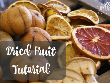 Dried Fruit Tutorial