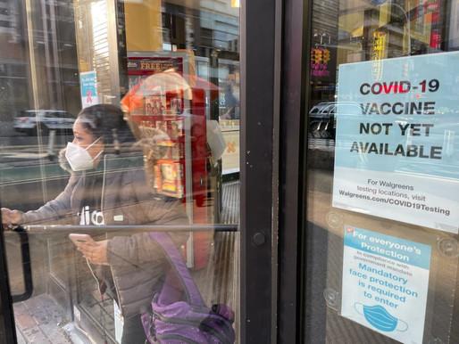 Covid-19: Nova York e Europa voltam a fechar escolas e mundo ultrapassa 1,3 milhão de mortos